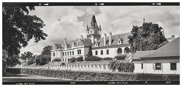 Grafenegg with selfmade camera 6x17