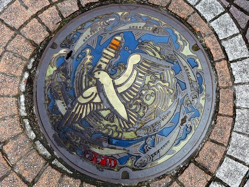 Choshi Chiba, manhole cover (千葉県銚子市のマンホール)