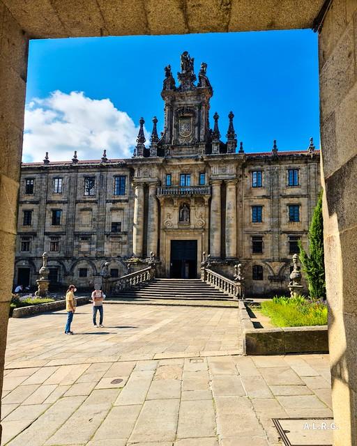 Monasterio de San Martín Pinario, actual Seminario Mayor. Santiago de Compostela.