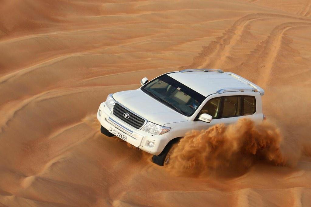 enjoy Dubai desert experience with an arranged safari