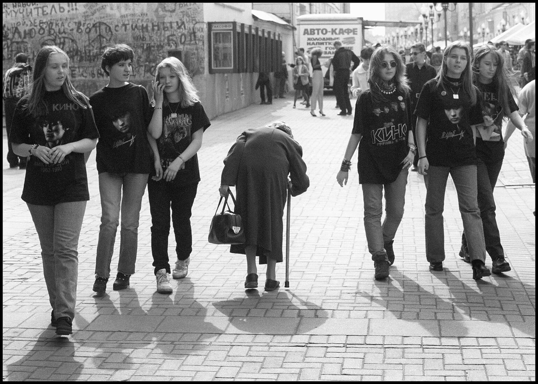 1998. Арбат. Старость и молодость.