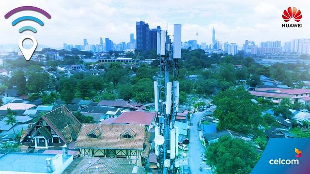 Celcom &Amp; Huawei Perkenal Penggunaan Berskala Besar Smart 8T8R Pertama Dunia Di Malaysia