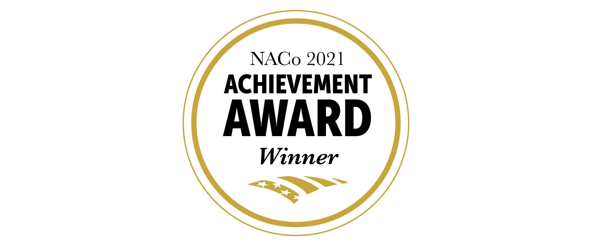 NACo Award seal