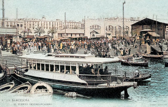 Barcelona - el Puerto Desembarcadero ...