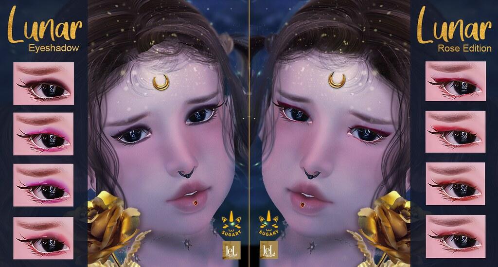 ✿ {SUGARY} Lunar Eyeshadow & Rose Edition ✿