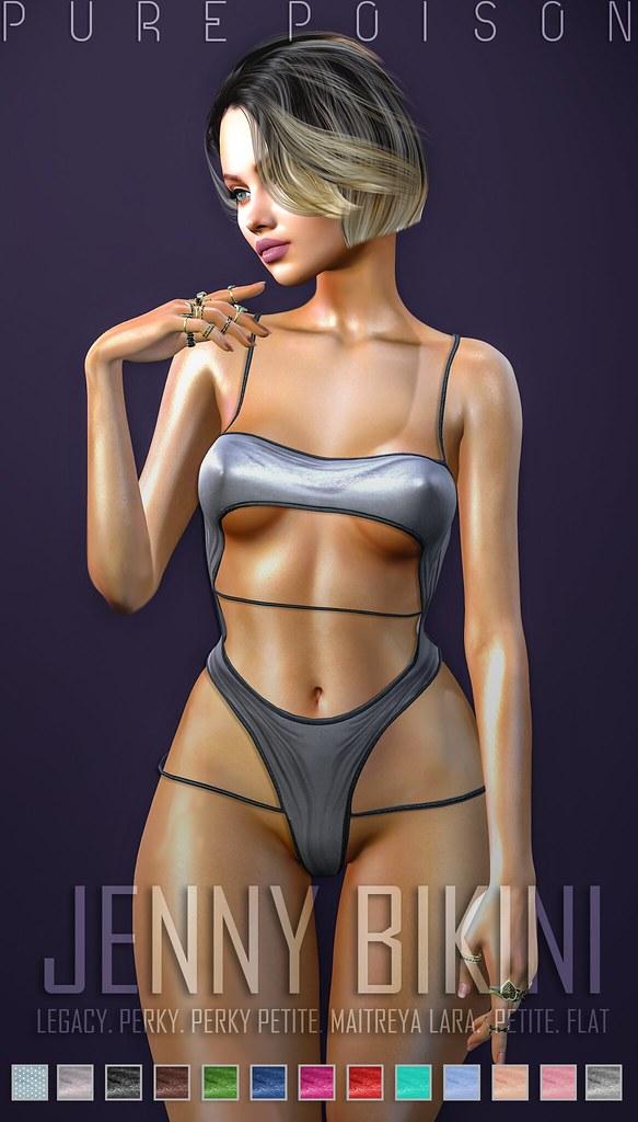 Pure Poison – Jenny Bikini –  Itty Bitty Titties