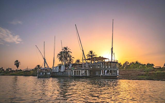 Así es la dahabeya con la que surcaremos las aguas del río Nilo en nuestro viaje de autor a Egipto