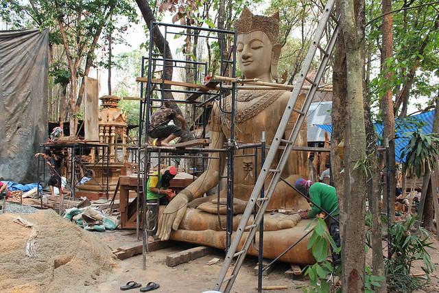 Naissance d'un bouddha