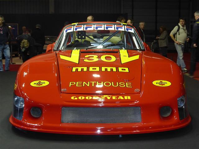 Porsche 935/78-81 Moby Dick de 1981 conçue par Reinhold Joest , châssis JR-001, livery Momo Penthouse