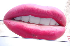 Red Lips, White Teeth