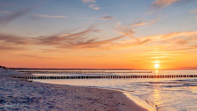 Evening mood on the Baltic Sea!