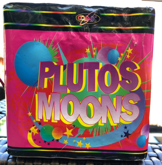 Pluto's Moons by Cosmic Fireworks