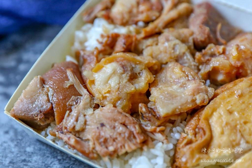 三重美食,三重豬腳飯,美食,阿發豬腳便當,阿發豬腳飯 @陳小可的吃喝玩樂