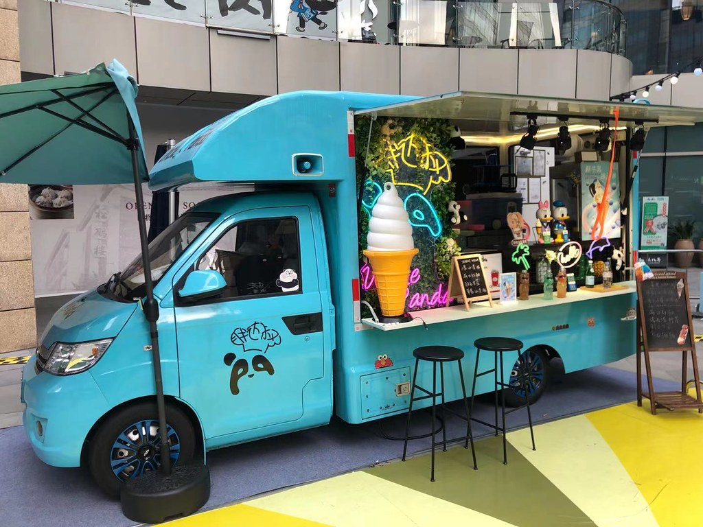 Panda Chef - truck