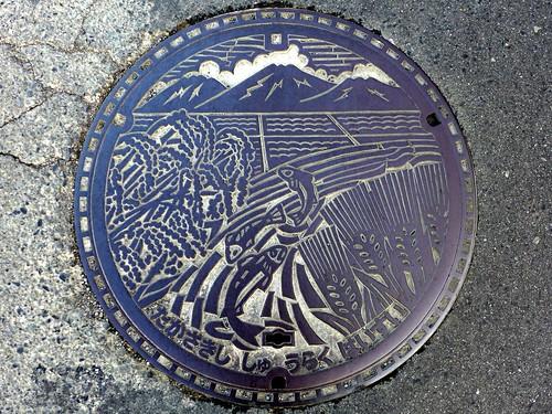 Takasaki Gunma, manhole cover (群馬県高崎市のマンホール)