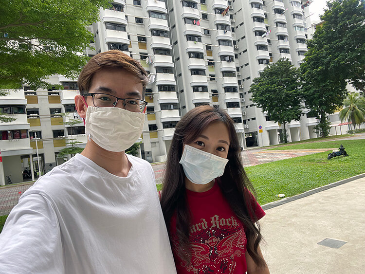 couples buying hdb in singapore