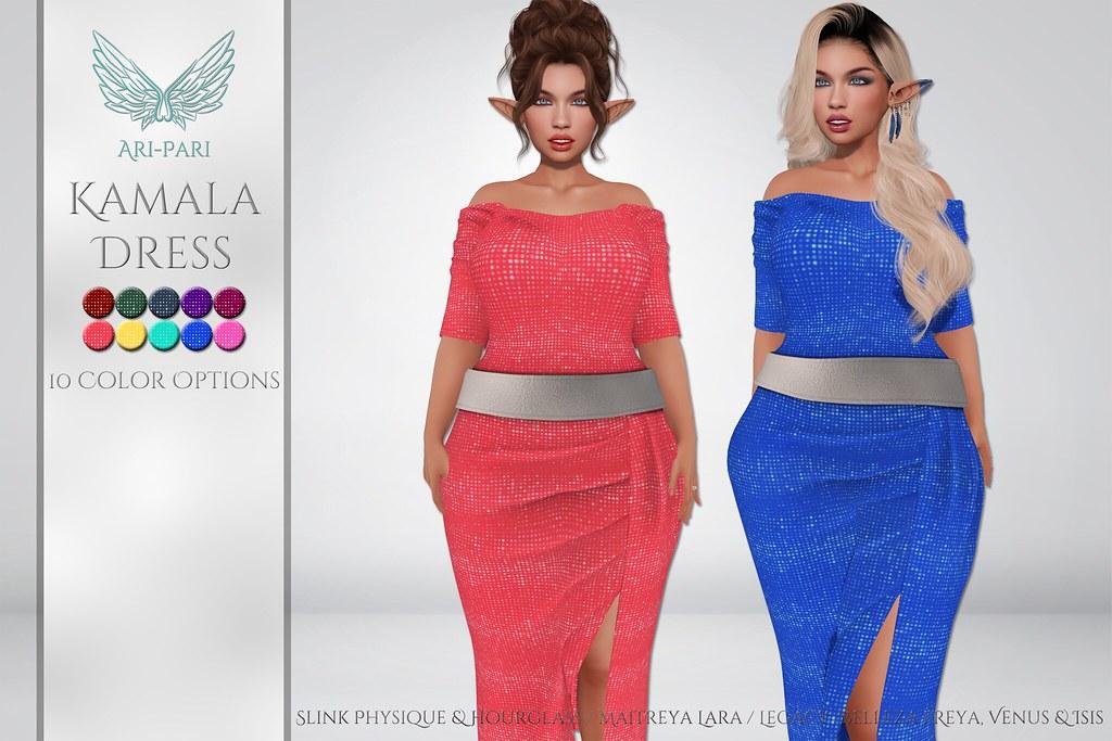 [Ari-Pari] Kamala Dress