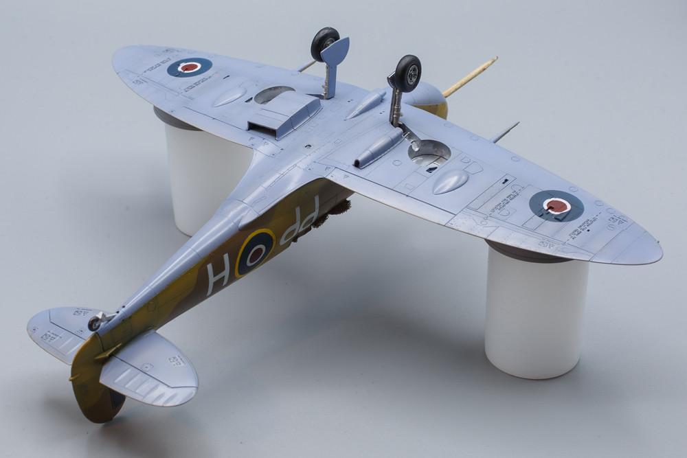 Spitfire mk.Vb Trop intrados terminé