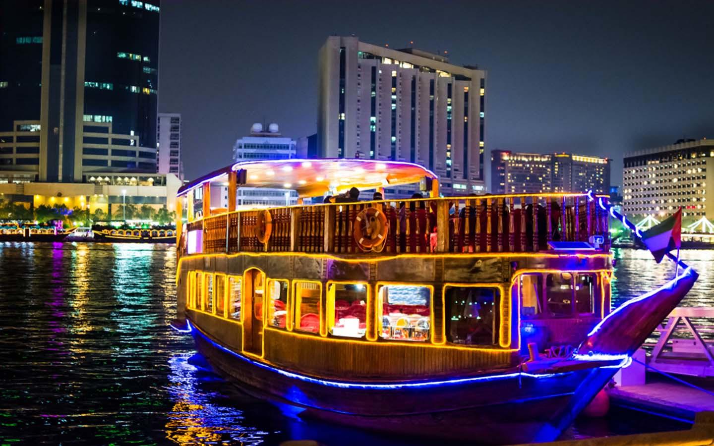 beautiful Dubai Cruise adventure