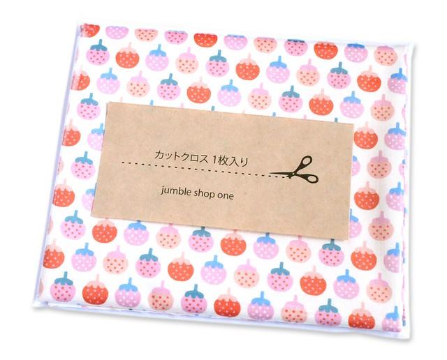 カットクロス Paintbrush Studio Fabrics Animal Alphabet 120-21828 Strawberry