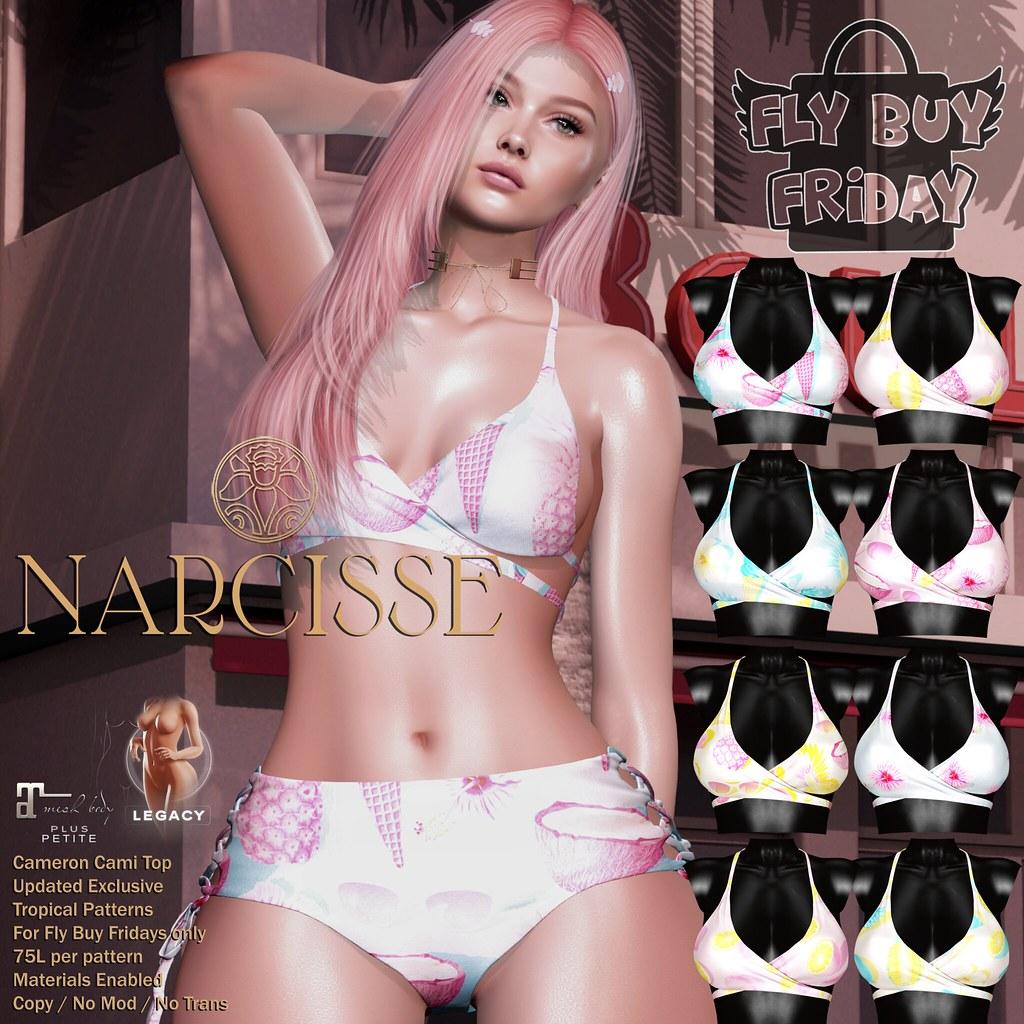 -Narcisse- Fly Buy Fridays – Cameron Cami