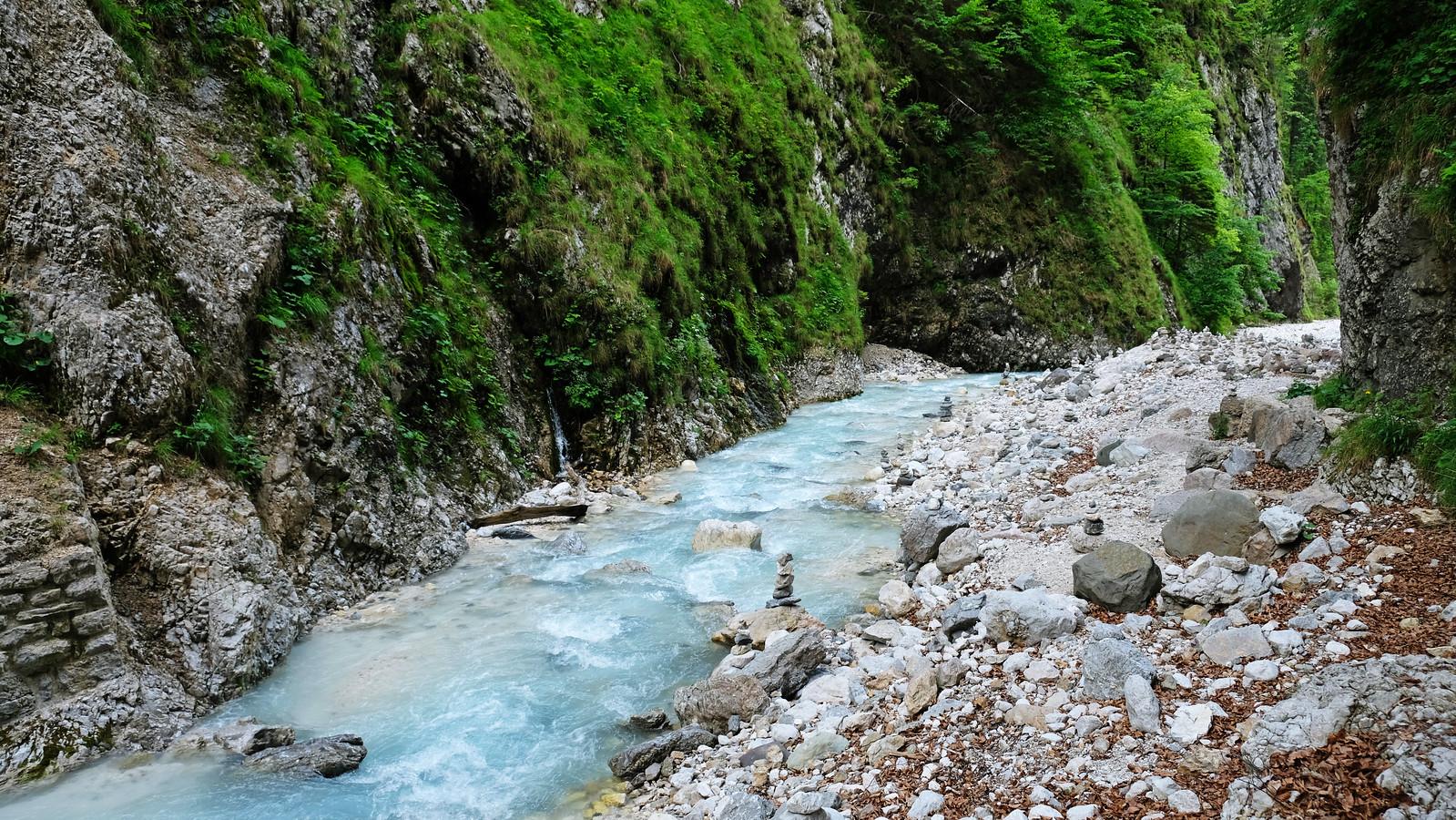 Martuljek Gorge, Slovenia