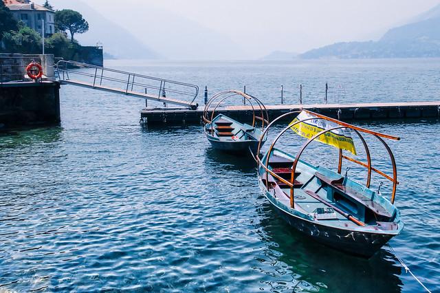 Misty Dock | Varenna, Lake Como, Italy [Explore]