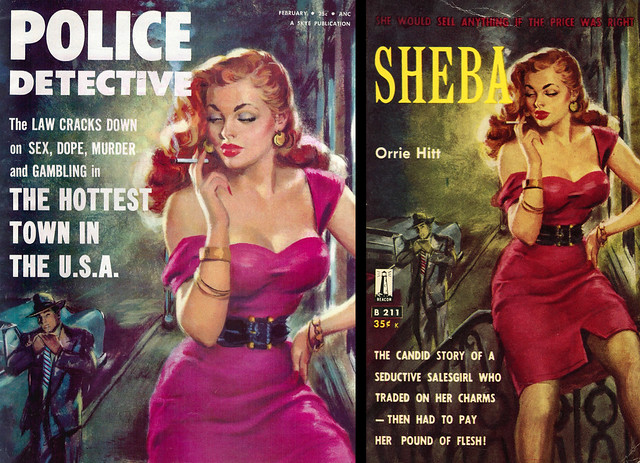 Rudy Nappi - Police Detective  / Beacon Books - Sheba
