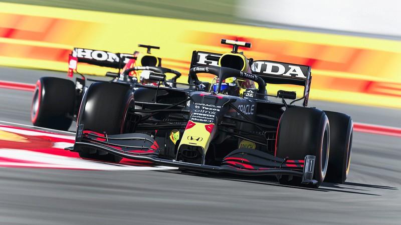 F1 2021 Honda Redbull