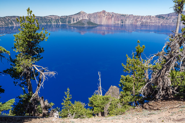 Armchair Traveling - Crater Lake - The Bluest Blue