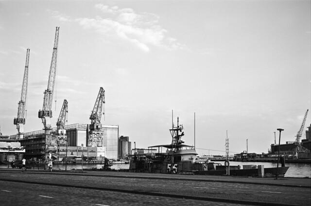 Warship in Ruoholahti