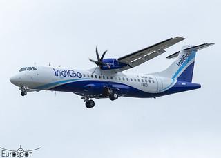 F-WWEF / VT-IRD ATR72-600 Indigo s/n 1660 * Toulouse Blagnac 2021 *
