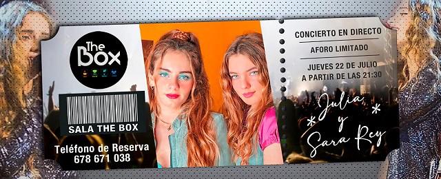 Cartel Julia y Sara
