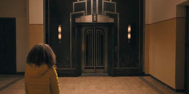 Art-Deco elevator Empire State Building