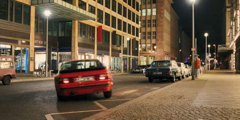 Porsche in Mitte