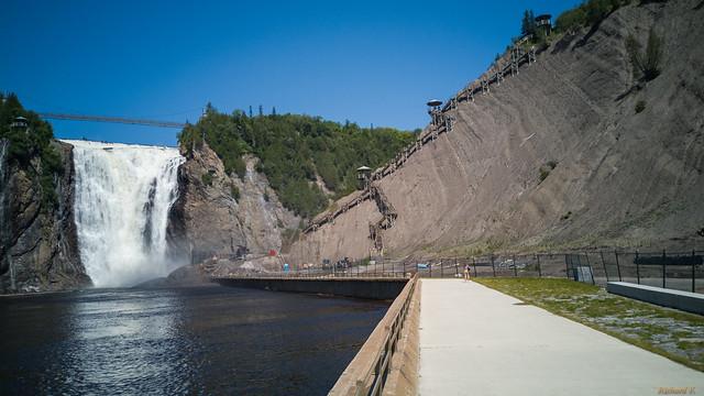 Chûtes Montmorency, Montmorency Falls, Québec, Canada - 121021