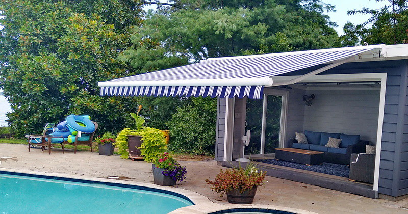 Retractable Awning for Pool