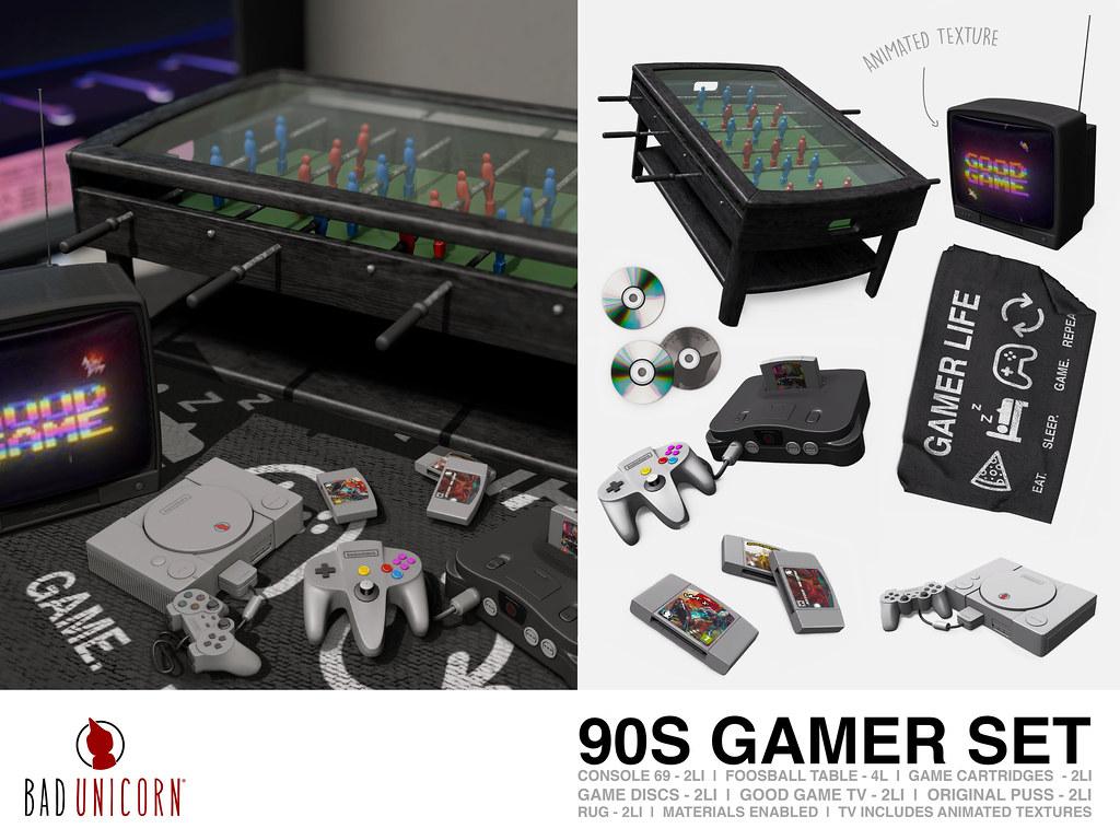 NEW! 90S GAMER SET @ KUSTOM9