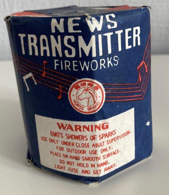 News Transmitter Firework Cake