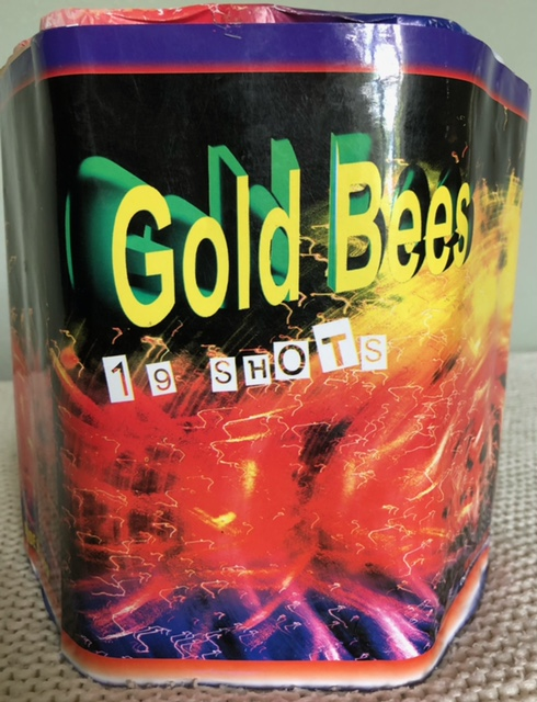 Gold Bees by Kimbolton Fireworks