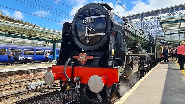 46100 Royal Scot at Carlisle