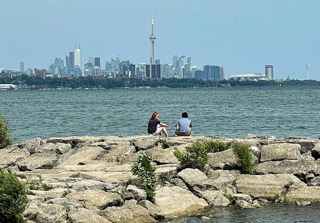 Humber Bay, Toronto Skyline, 2021