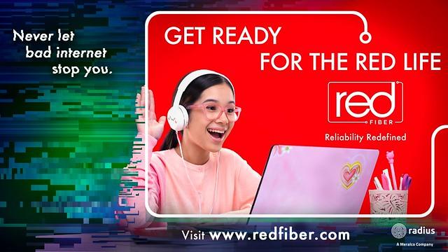 RED Fiber Key Visual