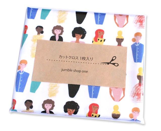 カットクロス Paintbrush Studio Fabrics Friends and Faces 120-21477 More Ladies