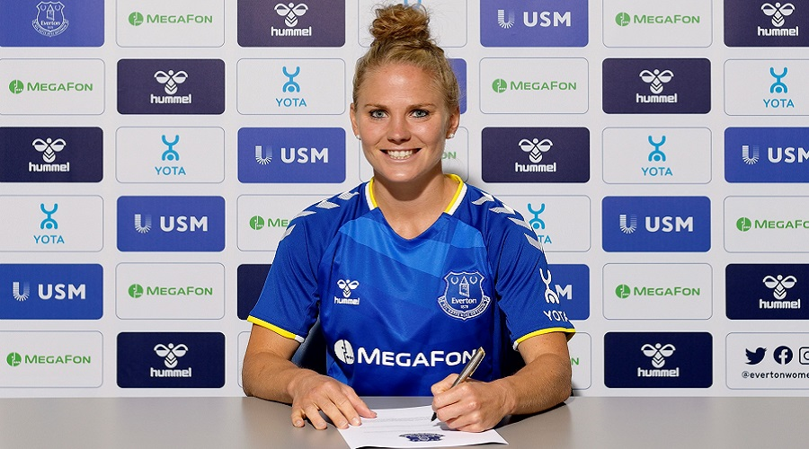 Picture Of Leonie Maier - Everton