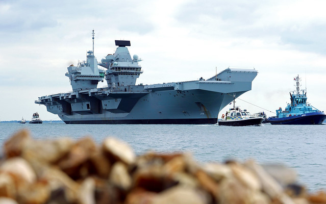 HMS Prince of Wales...