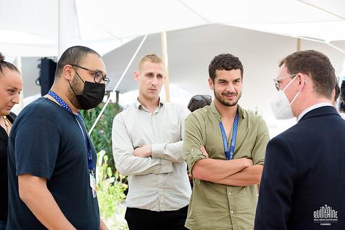 Pot d'équipe du film De bas étage de Yassine Qnia