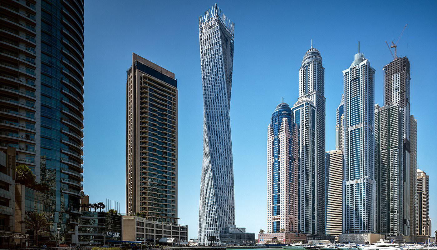 Cayan Tower Dubai, United Arab Emirates