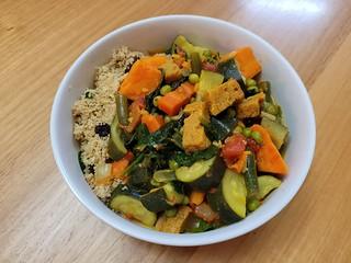 Seven Vegetable Couscous