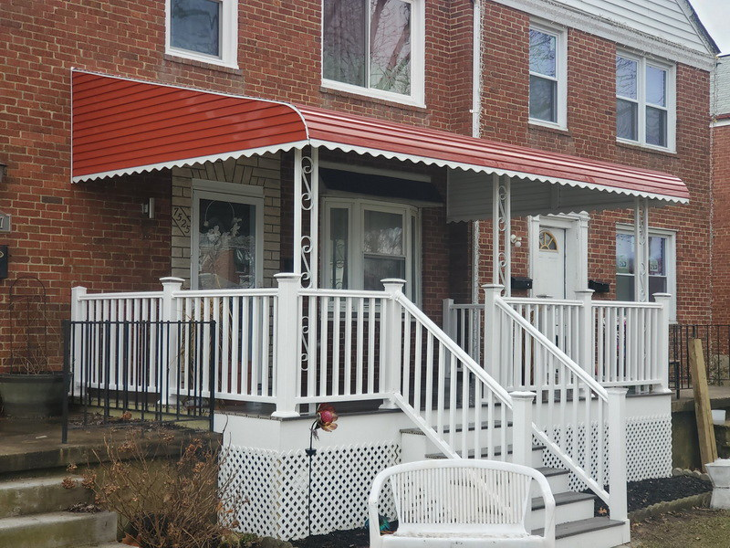 Aluminum Awning for Porch